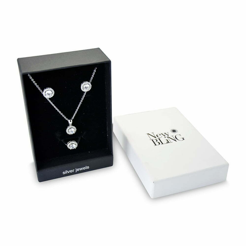 Sterling Silver Set Welcome To New Bling Shop